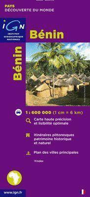 BÉNIN - BENIN (RÉPUBLIQUE DU BENIN) E. 1:600,000 *