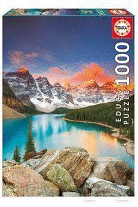 LAGO MORAINE BANFF NATIONAL PARK, CANADA PUZZLE 1000 PIEZAS *