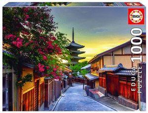 PAGODA YASAKA, KIOTO, JAPON PUZZLE 1000 PIEZAS *