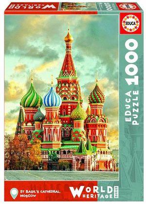CATEDRAL DE SAN BASILIO, MOSCU PUZZLE 1000 PIEZAS *