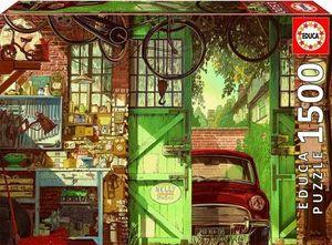 OLD GARAGE, ARLY JONES PUZZLE 1500 PIEZAS *