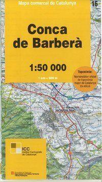 16 CONCA DE BARBERA 1:50.000 *