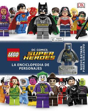 LEGO DC ENCICLOPEDIA DE PERSONAJES *
