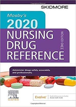 MOSBY´S 2020 NURSING DRUG REFERENCE *
