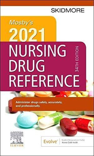 MOSBY´S 2021 NURSING DRUG REFERENCE *