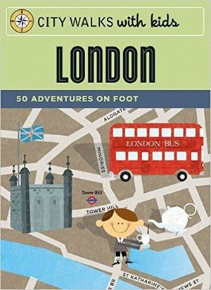LONDON -CITY WALKS WITH KIDS [CARTAS] *