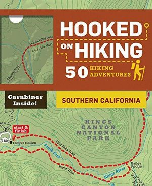 HOOKED ON HIKING: SOUTHERN CALIFORNIA:  [CARTAS] *