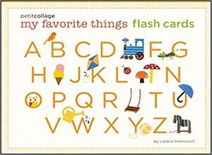 ABC [CAJA] MY FAVORITE THINGS FLASH CARDS. PETIT COLLAGE