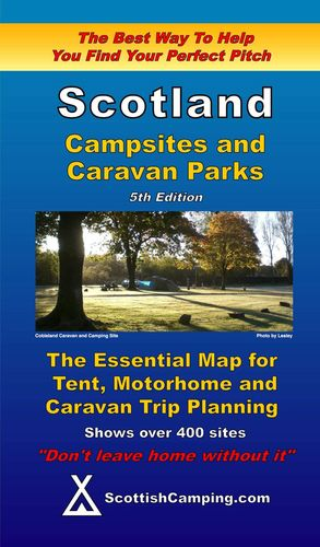 SCOTLAND CAMPSITES AND CARAVAN PARKS - MAPA
