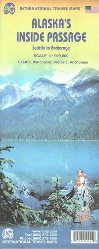 ALASKA'S INSIDE PASSAGE 1:900.000 *