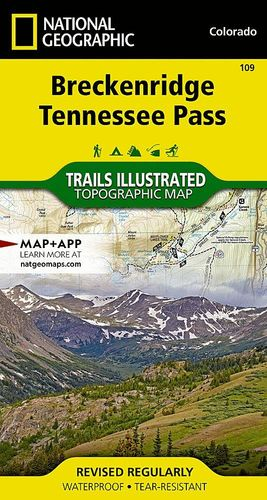 BRECKENRIDGE/TENNESSEE PASS: COLORADO 1:75,000 *