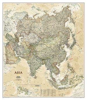 MAPA MURAL ASIA EXECUTIVE E.1:13.812.000 (97 X 84 CM) *