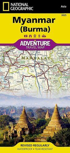 MYANMAR/ BIRMANIA 1:1.480.000 *