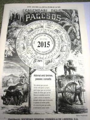 CALENDARI DELS PAGESOS 2020