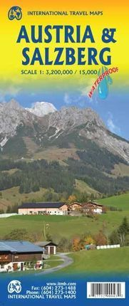 AUSTRIA 1:3.200.000 & SALZBURG 1:500.000 *