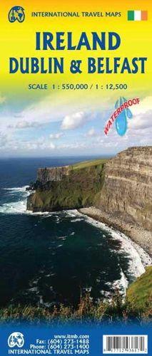 IRELAND, (IRLANDA) DUBLIN, BELFAST 1:550.000 - 1:12.500