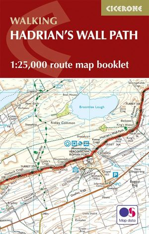 HADRIAN'S WALL PATH MAP BOOKLET *