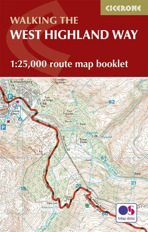 WEST HIGHLAND WAY MAP BOOKLET E. 1:25,000 *