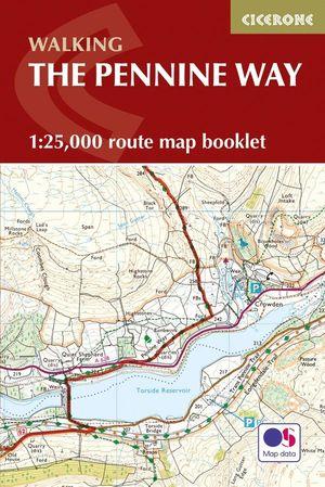 PENNINE WAY MAP BOOKLET (MAPA + GUIA) *