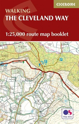 THE CLEVELAND WAY MAP BOOKLET *