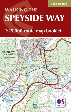 THE SPEYSIDE WAY MAP BOOKLET (MAPA+GUIA)*