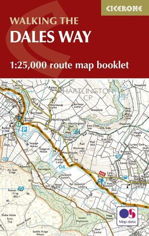 THE DALES WAY MAP BOOKLET 1:25,000 *