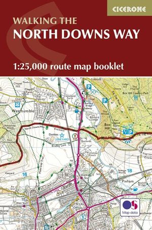 NORTH DOWNS WAY MAP BOOKLET *