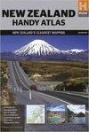 NEW ZEALAND - NUEVA ZELANDA - HANDY ATLAS 1 : 434.000