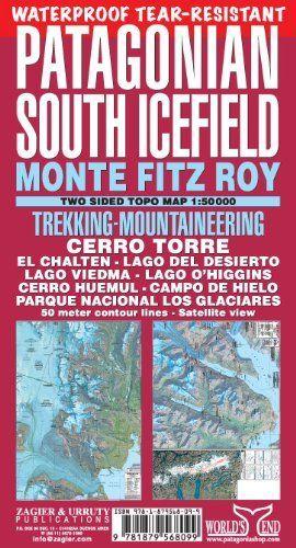 PATAGONIAN SOUTH ICEFIELD - CAMPO DE HIELO PATAGÓNICO SUR 1:150.000 *