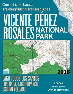 VICENTE PEREZ ROSALES NATIONAL PARK - CHILE LOS LAGOS 1:50.000 *
