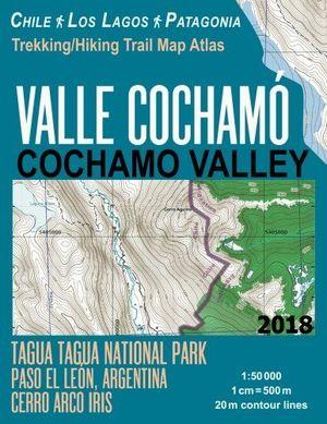 VALLE COCHAMO COCHAMO VALLEY - CHILE -  LOS LAGOS -PATAGONIA 1:50.000 *