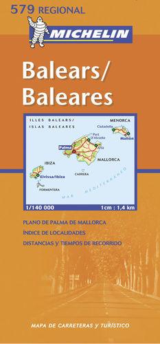 BALEARS - BALEARES E. 1:140,000