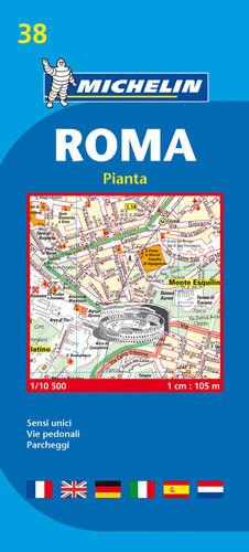 38 ROMA PLANO PLEGADO E.1:10,500  Nº 19038