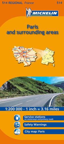 514 ILE-DE-FRANCE  - PARIS & SURROUNDINGS AREAS