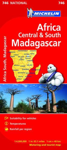 ÁFRICA CENTRO-SUR, MADAGASCAR Nº 746 *