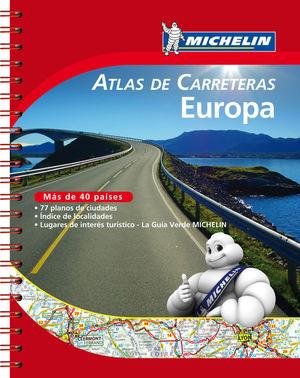 ATLAS DE CARRETERAS EUROPA *