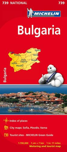 739 BULGARIA   E. 1:700,000 *