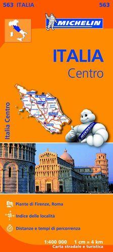 563  ITALIA CENTRO E.1:400,000 *