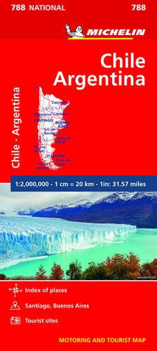 788 CHILE - ARGENTINA 1: 2.000.000 *