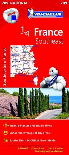 FRANCE SOUTHEAST - FRANCIA SURESTE Nº 709  E.1:500.000 *