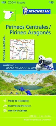 145 PIRINEOS CENTRALES / PIRINEO ARAGONÉS E. 1/150,000