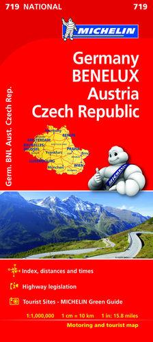 719 ALEMANIA BENELUX AUSTRIA REP. CHECA  *