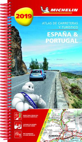 ESPAÑA & PORTUGAL 2019 (ATLAS DE CARRETERAS Y TURÍSTICO ) *
