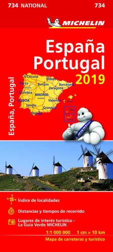 734 ESPAÑA - PORTUGAL 1/1 000 000