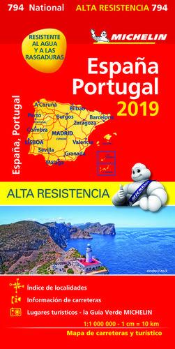 794 ESPAÑA/PORTUGAL 1/1 000 000 *
