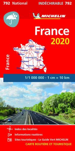 792  FRANCE 1/1 000 000 *