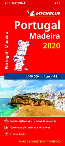 733 PORTUGAL, MADEIRA 1/400 000  2020 *