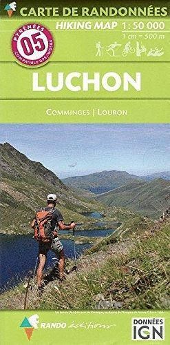 05 LUCHON - COMMINGES, LOURON 1/50 000