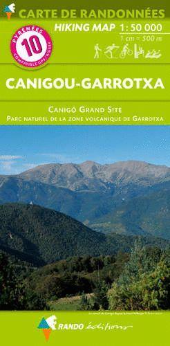 10 CANIGOU-GARROTXA 1:50,000