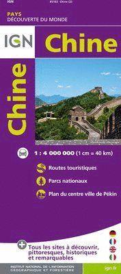 85102 CHINE - CHINA 1:4.000.000 -IGN